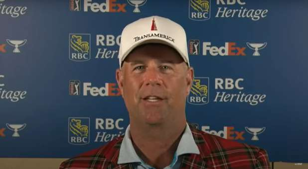 Pro Golfer Stewart Cink Gives Glory to Jesus, Credits With Peace, Joy During Championship Golfer Gives Glory to Jesus, Credits With Peace, Joy During Championship