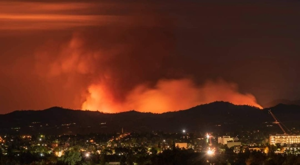 Bethel Church, Redding, Responds to Western Wildfires