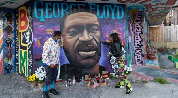 Shooting Near George Floyd Memorial Just Hours Before Festival Marking Anniversary of his Death Leaves man in Critical Condition