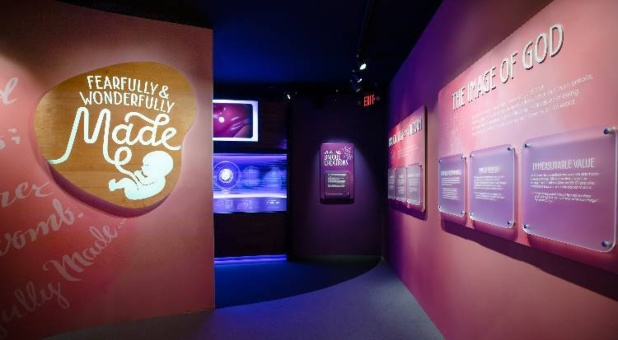 New Exhibit Celebrating Unborn Life Open at Creation Museum