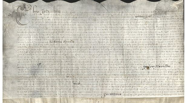 Museum of the Bible Displays 410-year-old Mayflower Bill of Sale