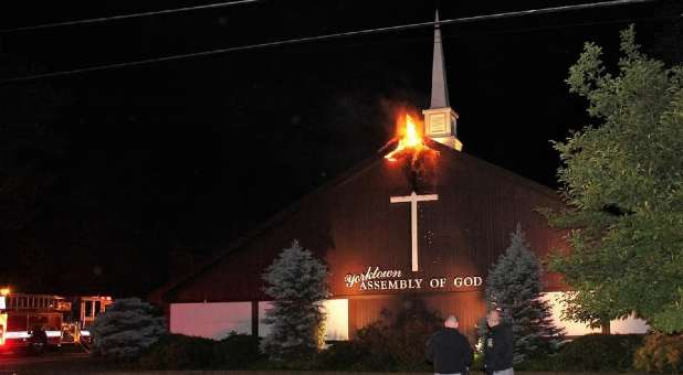 New York Church Catches Fire, Dog Saves Church from Burning Alerts Neighbor to Call 9-1-1