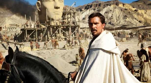 "Christian Bale starring as Moses in Ridley Scott's upcoming ""Exodus: Gods and Kings"""