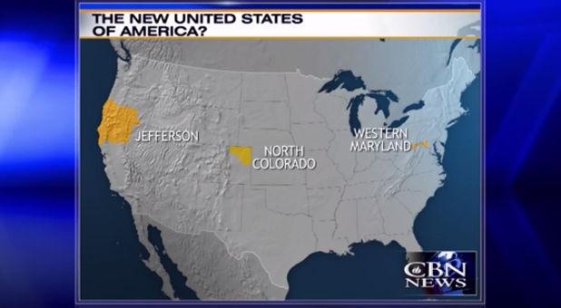 New U S Map
