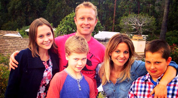 Candace Cameron Bure's family