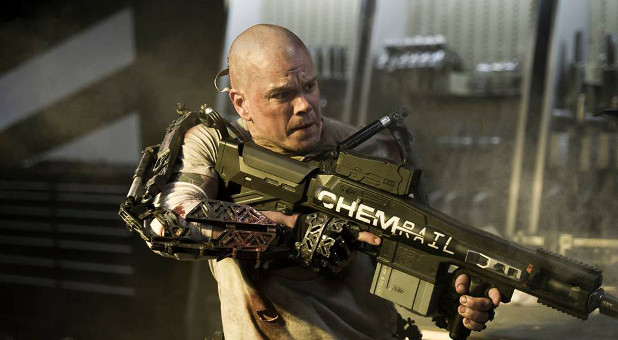 Matt Damon stars in 'Elysium.'