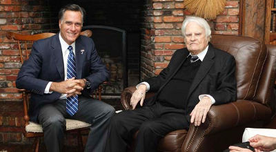 Mitt Romney, Billy Graham
