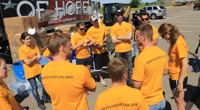 ORU disaster relief team