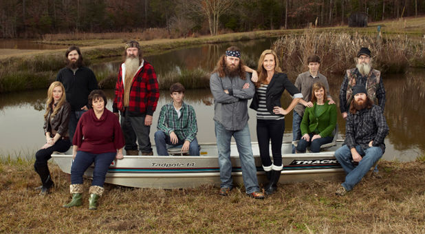 The Robertson family.