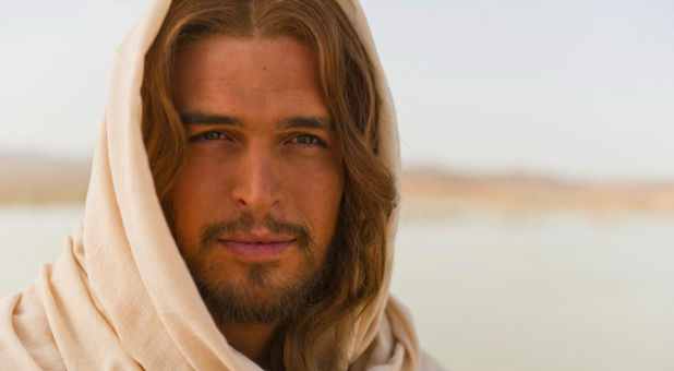 Jesus in 'The Bible' miniseries