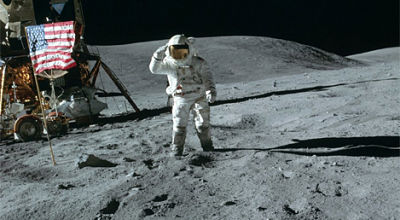Years After Apollo 16 Moon Walk, Astronaut Finds Jesus ...