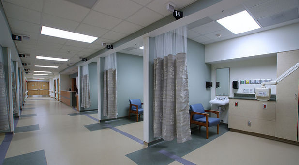 hosptial rooms