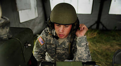 U.S. Army soldier