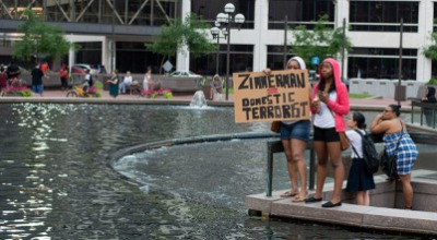 Zimmerman protest