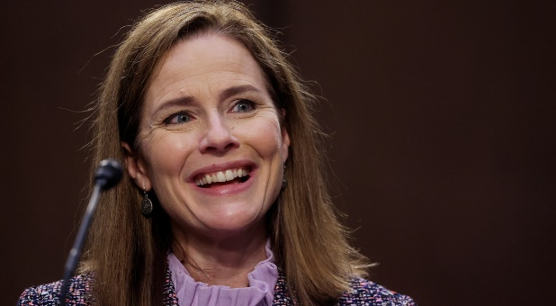 Moms for America Holds Press Conference in Support of Judge Amy Coney Barrett