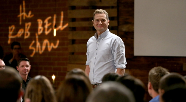 "Pastor Rob Bell from ""The Rob Bell Show."""