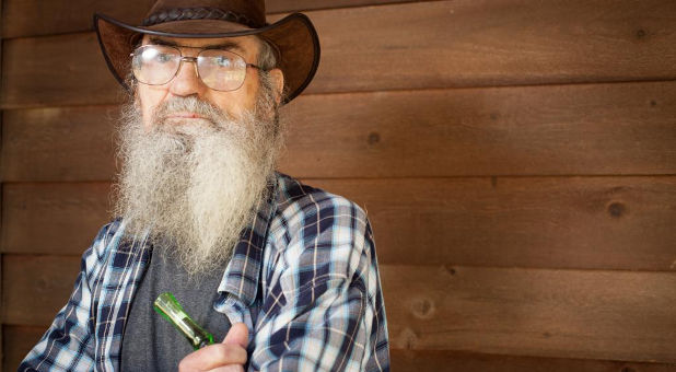 what did si robertson say last night