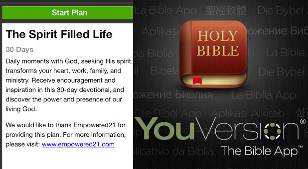 YouVersion Launches 'Spirit Filled Life' Daily Devotional