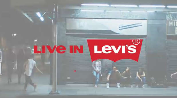 'Live in Levi's' commercial
