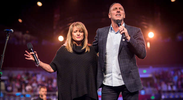 Bobbie and Brian Houston