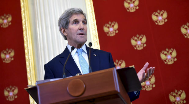 John Kerry has now said he doesn't believe peace between Palestine and Israel is possible.