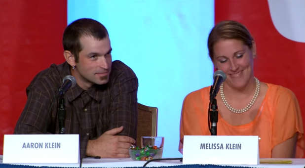 Aaron and Melissa Klein say government cleaned out their bank account.