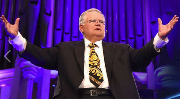 Pastor John Hagee discusses his books in an interview with CBN.