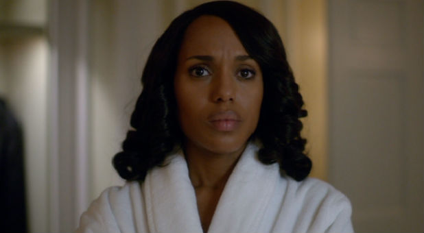 Kerry Washington's Olivia Pope underwent an abortion during the Scandal mid-season finale.