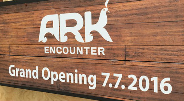 Ken Ham's Ark Encounter will open July 7 of next year.