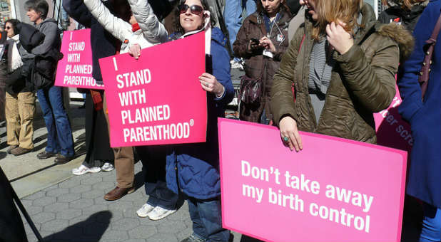 Alveda King doesn't stand with Planned Parenthood, nor with the Supreme Court on HHS mandates.