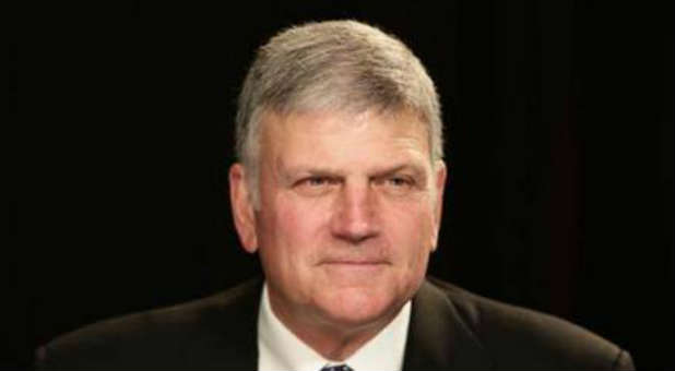 Franklin Graham is traveling all across the country for his Decision America tour.