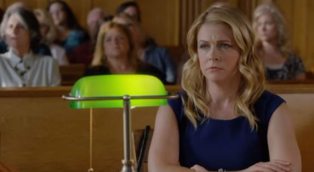 Melissa Joan Hart is a teacher who stands trial in 'God's Not Dead 2'