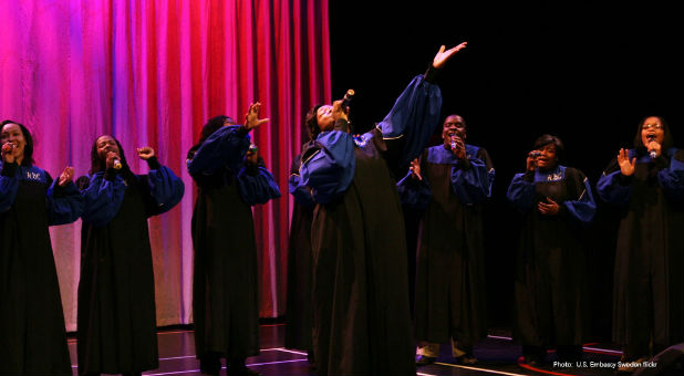 A city is fining a gospel choir for singing too loudly.