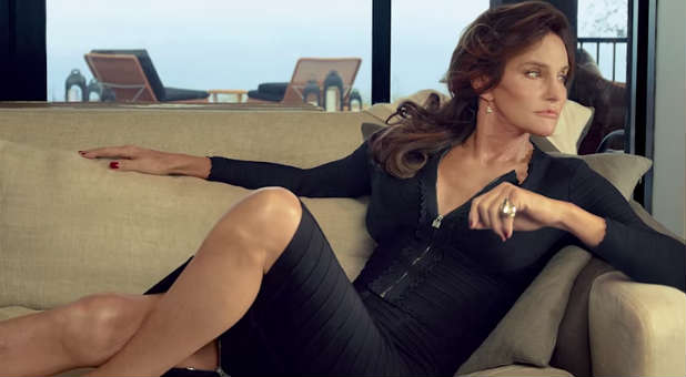 "Bruce ""Caitlyn"" Jenner in the promo for ""I am Cait."""