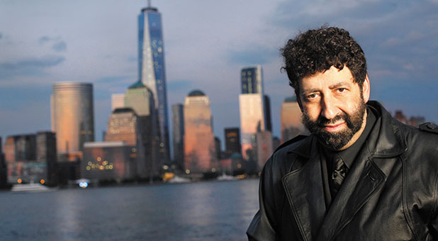 A 'gay citizen' complained that Jonathan Cahn's message at the 'Washington: Man of Prayer' event should not be posted from a Police Department Facebook account.