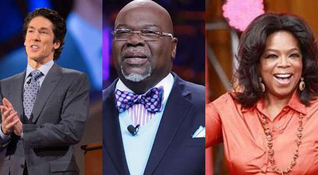 There's a silver lining to the topic of gay marriage thanks to Joel Osteen, T.D. Jakes and Oprah Winfrey.