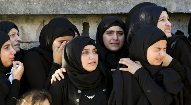 Muslim women mourn for people killed in recent terror attacks. Author and humanitarian aid worker Ray says the church has a chance to step up and relieve their suffering.