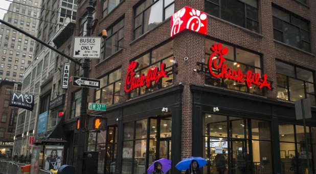 Chick-fil-A in New York City