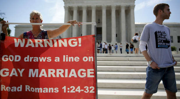 No homosexual marriage
