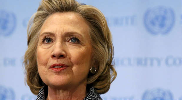 Hillary Clinton is expected to make her presidential bid this weekend.