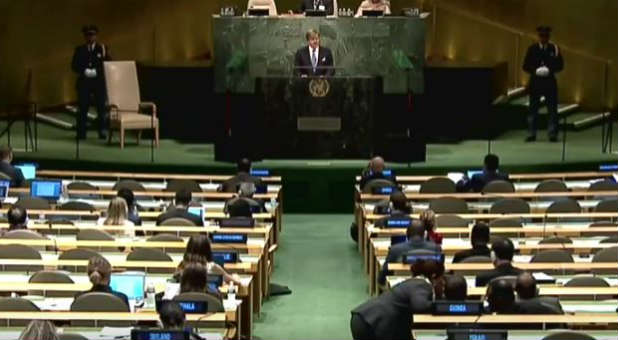 The U.N. General Assembly inked Agenda 2030 this weekend.