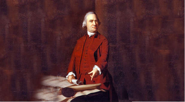 The people of America have the justification to disobey the government, according to criteria set out by Samuel Adams.