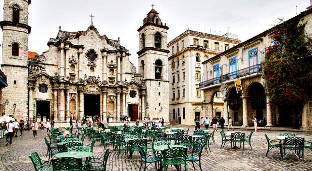 Cathedral in Havana, Cuba