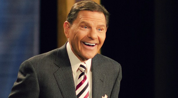 Kenneth Copeland was one of several evangelists who prayed over Donald Trump.