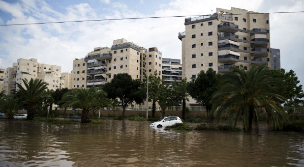 Floods in Israel