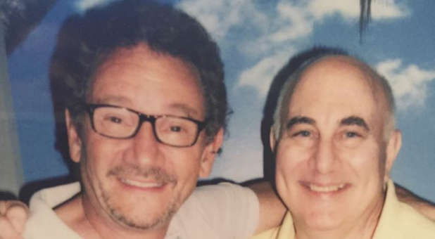 Grant Berry (l) and David Berkowitz