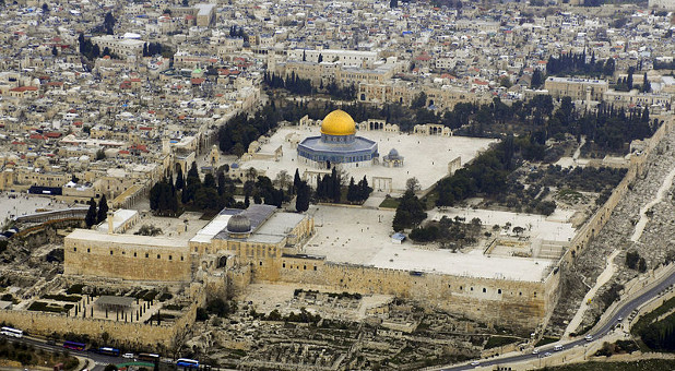 The Jews' isolation from the Temple Mount is not biblical.