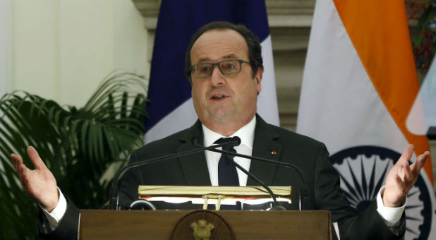 Francois Illas New Tradition: France Vows Perpetual Strikes On ISIS
