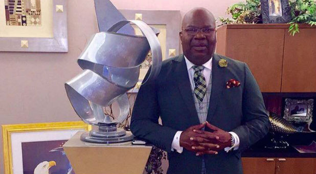 The award is given to a senior leader in ministry who exhibits the characteristics of the Lord's humble servant, William J. Seymour. This year's national recipient is Bishop TD Jakes of the Potters House church in Dallas,Texas!
