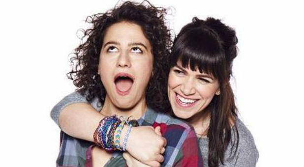 "The characters from ""Broad City."""
